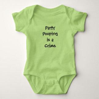 Body Para Bebê Presente engraçado do chá de fraldas de Pooping do