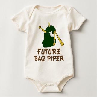 Body Para Bebê Presente futuro bonito do T do bebê do tocador de