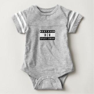 Body Para Bebê Presente perfeito do melhor t-shirt engraçado da