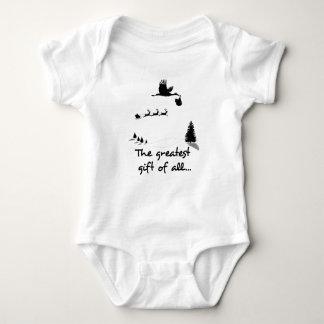 Body Para Bebê Presente recém-nascido do Natal para esperar pais