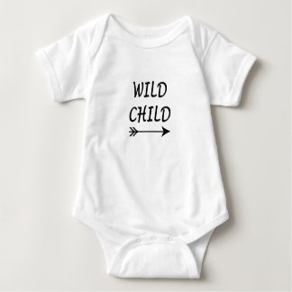 Body Para Bebê Presente selvagem da criança