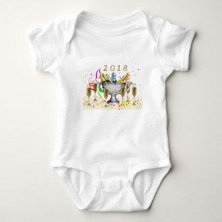 Body Para Bebê Presentes do ano novo