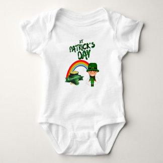 Body Para Bebê Presentes do Dia de São Patrício