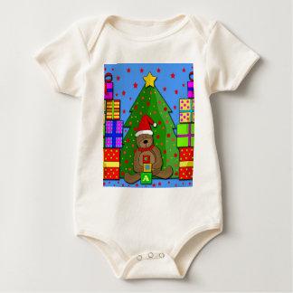 Body Para Bebê Presentes do Xmas