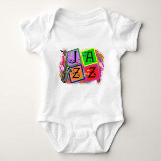 Body Para Bebê Presentes dos amantes de música jazz