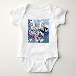Body Para Bebê Presentes engraçados de Londres do rick das linhas