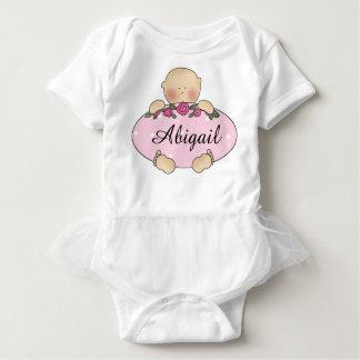 Body Para Bebê Presentes personalizados do bebê de Abigail