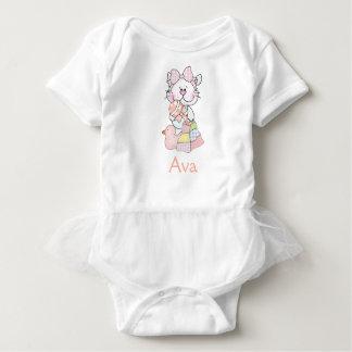 Body Para Bebê Presentes personalizados do bebê de Ava