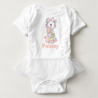 Body Para Bebê Presentes personalizados do bebê de Paisley