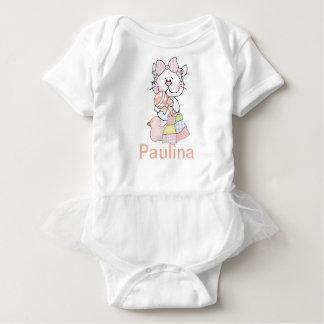 Body Para Bebê Presentes personalizados do bebê de Paulina