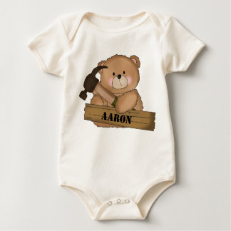 Body Para Bebê Presentes personalizados urso do construtor de