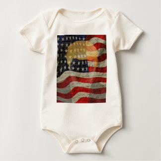 Body Para Bebê Presidente americano