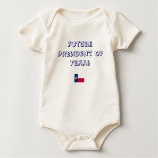 Body Para Bebê Presidente futuro de Texas