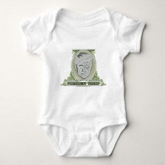 Body Para Bebê Presidente Trunfo Dólar