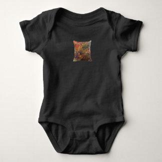 Body Para Bebê Pressão T do jérsei do travesseiro dos pintores de