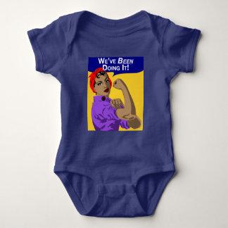 Body Para Bebê Preto Rosie-nós temo-lo feito - Romper do bebê