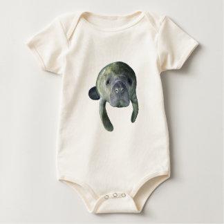 Body Para Bebê Primaveras do peixe-boi