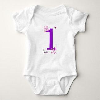 Body Para Bebê Primeiro aniversario de Sophia