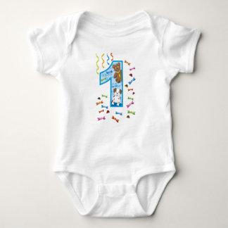 Body Para Bebê Primeiro aniversario um ano