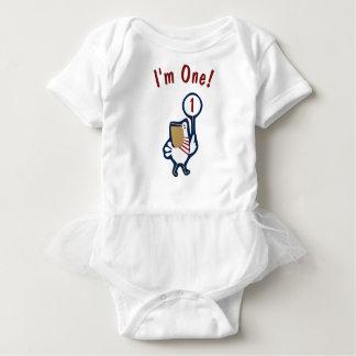 Body Para Bebê Primeiro equipamento náutico do Bodysuit do