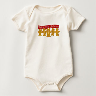 Body Para Bebê Primeiro Natal dos bebês