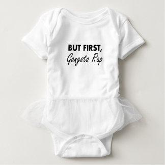 Body Para Bebê Primeiro rap de Gangsta