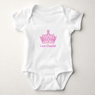 Body Para Bebê Princesa bem-vinda Charlie!