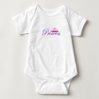 Body Para Bebê Princesa Bodysuit
