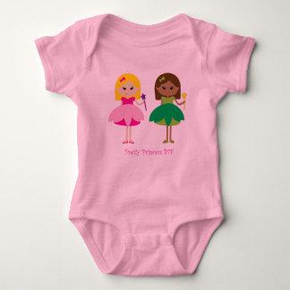 Body Para Bebê Princesa bonito BFF (melhores amigos para sempre)
