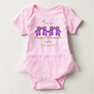 Body Para Bebê Princesa brincalhão Carregamento Costume Nome da