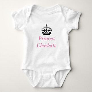 Body Para Bebê Princesa Charlotte