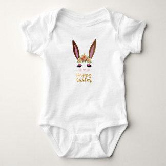 Body Para Bebê Princesa Coelho Cara do felz pascoa