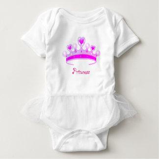 Body Para Bebê Princesa Coroa