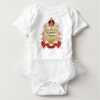 Body Para Bebê Princesa das avós