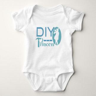 Body Para Bebê Princesa de DIY