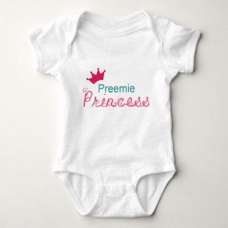 Body Para Bebê Princesa do Preemie