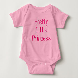 Body Para Bebê Princesa pequena bonito uma parte