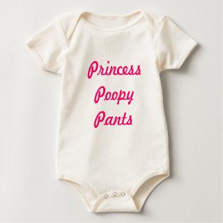 Body Para Bebê Princesa Poopy Calça