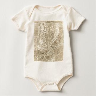 Body Para Bebê Princesa romana