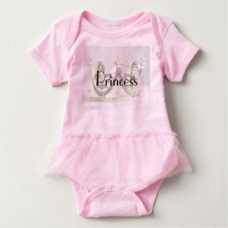 Body Para Bebê Princesa Tiara Bebê Tutu Bodysuit