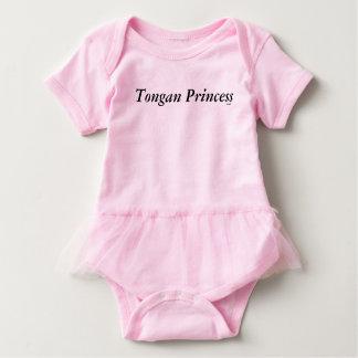 Body Para Bebê Princesa tonganesa Tutu