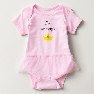Body para bebê princessinha da mamãe