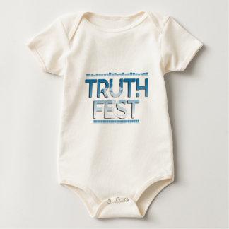 Body Para Bebê Princípios do Fest da verdade