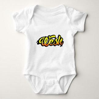 Body Para Bebê Produto graffiti wesh