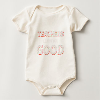 Body Para Bebê Professores que vão aprendê-lo bom