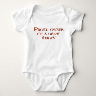 Body Para Bebê Proprietário orgulhoso de um grande pai