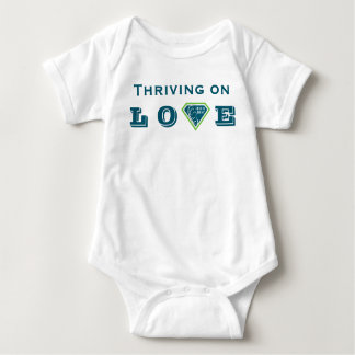 Body Para Bebê Prosperar no AMOR Fed é o melhor Bodysuit do bebê