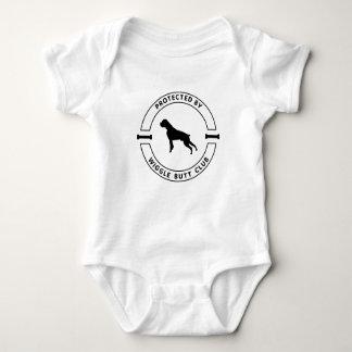 Body Para Bebê Protegido pela camisola do bebê do clube do bumbum