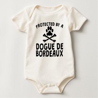 Body Para Bebê Protegido por um Dogue de Bordéus
