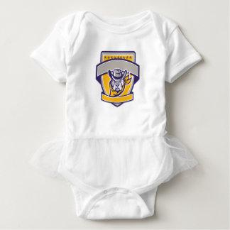 Body Para Bebê Protetor da cabeça do vaqueiro do xerife do